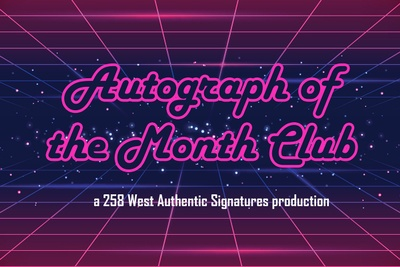 Autograph of the Month Club Photo 1