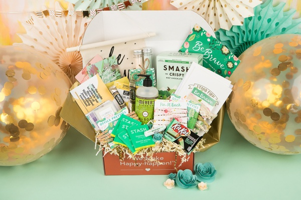 Monthly Encouragement Box for Women with a Faith-Based Theme Filled with Soul + Self-Care Products