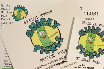 Quirky Pickle Sticker Pals Photo 3