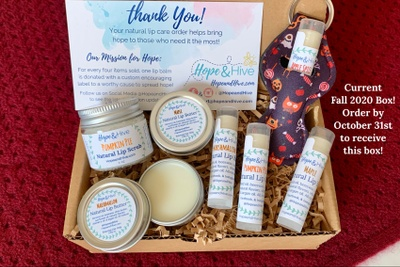 Hope & Hive: Quarterly Lip Care Gift Box! Photo 1