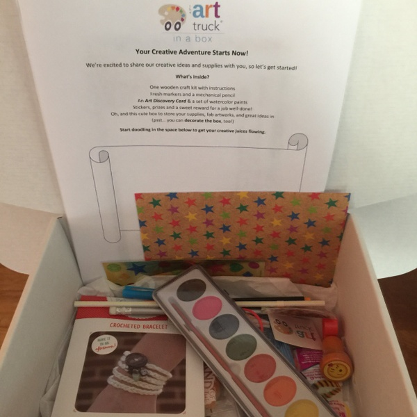 July - Creativity Box for Girls
