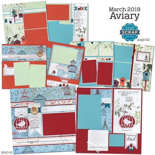 March 2019 - Aviary Page Kit
