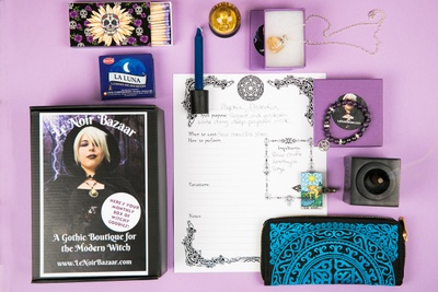 Le Noir Bazaar Box -Your Monthly Box of Witchy Surprises Photo 2