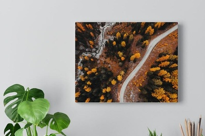 Lava - Canvas Prints for lavaly walls Photo 1