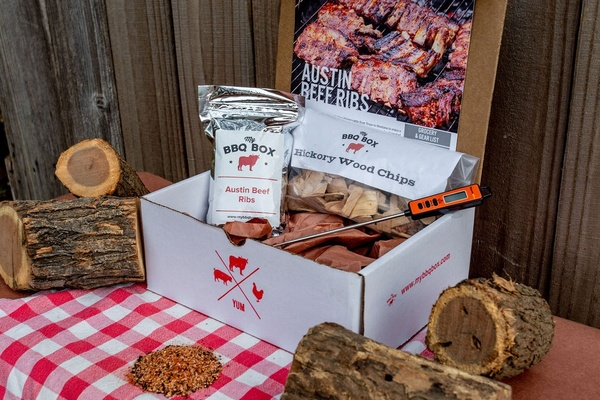 Grilling themed subscription box.