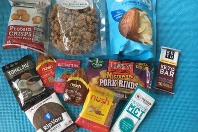 All Things Keto Deluxe Subscription Box Photo 2