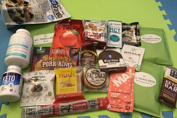 All Things Keto Deluxe Subscription Box Photo 1