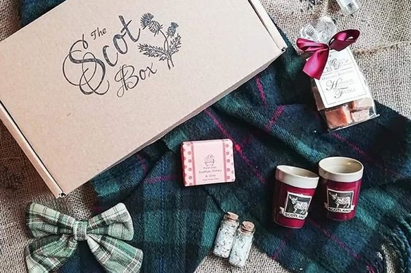 travel themed subscription boxes the scot box