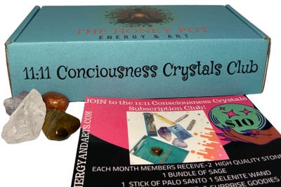 11:11 Conciousness Crystals Club Photo 1