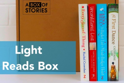 Light Reading Monthly Book Box - Box of 4 New Surprise Books Photo 1