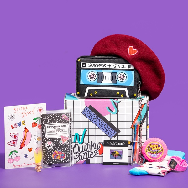 March 2019 Crate: 90's Edition Featuring Poppy Almond
