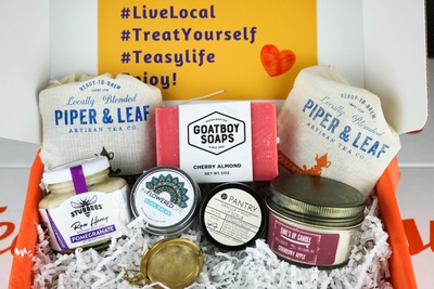 Teasy Monthly Tea and Wellness Essentials box Photo 2