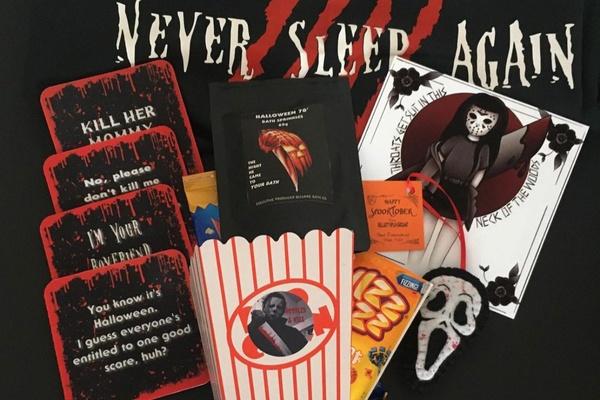 All Hallows Club Halloween subscription box