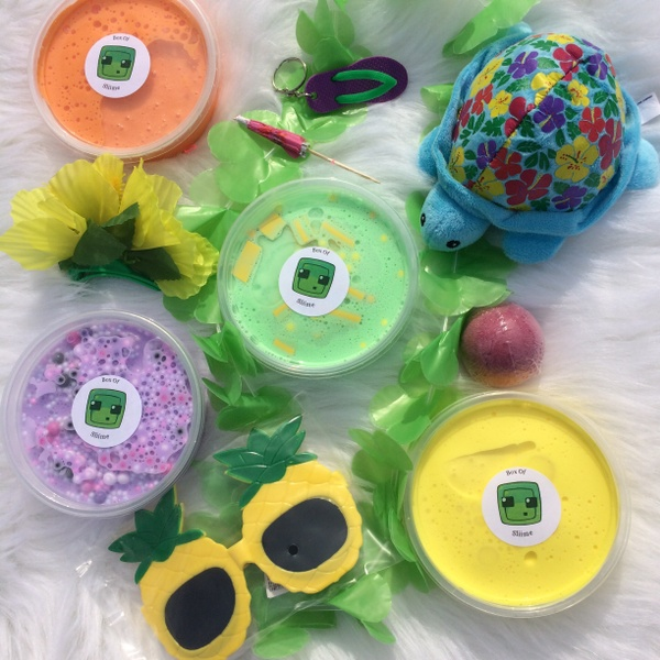 Summer Luau Slime Box (May 2018)