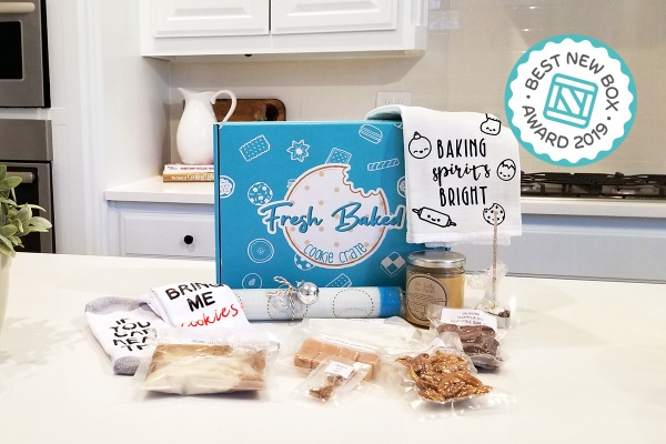 Fresh Baked Cookie Crate - The 10 Best Subscription Boxes For Arts and Crafts and DIY Projects