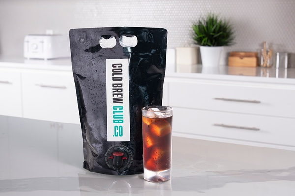 Cold Brew Club sends bags of cold coffee to be enjoyed on the spot.