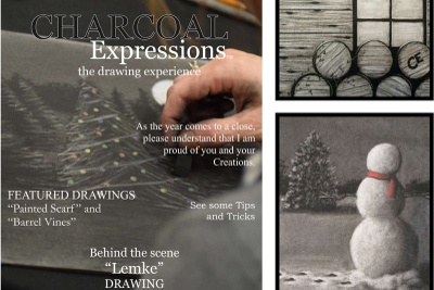 Charcoal Expressions Drawing Box Photo 2