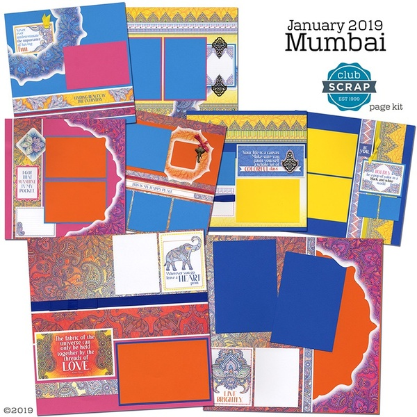 January 2019 - Mumbai Page Kit