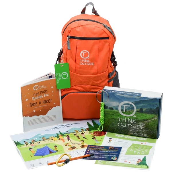 Think Outside is a kids subscription box for the outdoors.