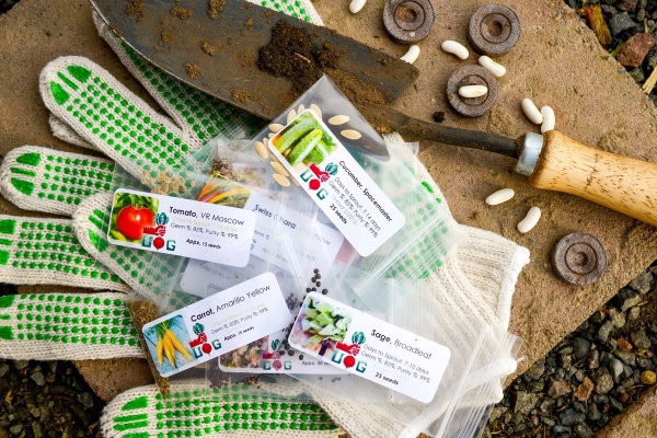 Seeds and gardening supplies via the Urban Organic Gardener subscription.