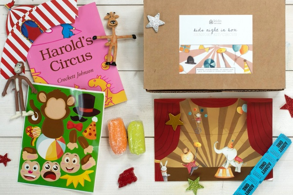 Circus Kids Night In Sensory Kit