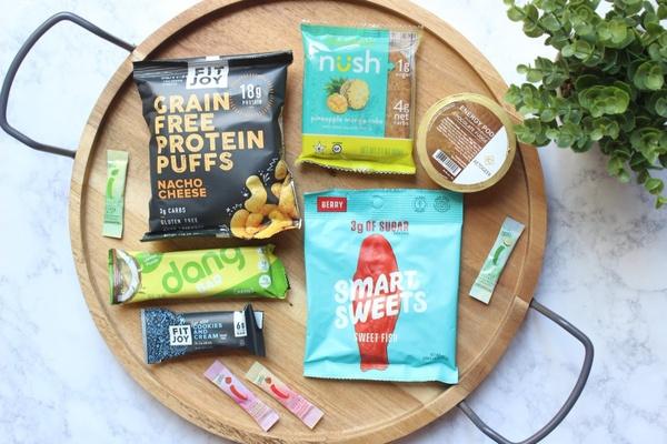 Sleek Treat low-carb snacks.