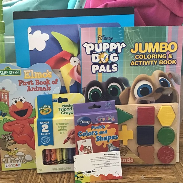 Kids Acitiviy Box Age 3-4!! (boxes will vary from picture. Picture is example)