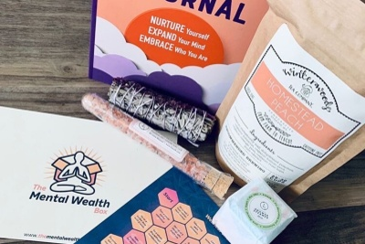 The Mental Wealth Box - Mental Health Subscription Box Photo 1