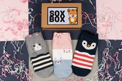 Sox Box: Cute Korean Socks, Every Month Photo 3