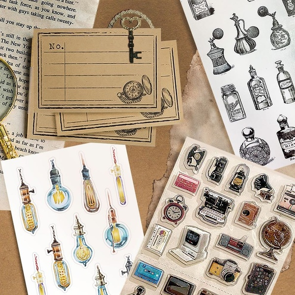June Retro Pack: Lost Objects Found