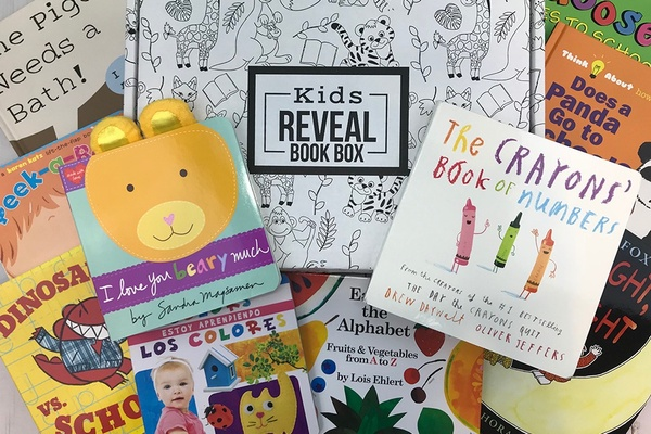 Kids Reveal Book Box Photo 1