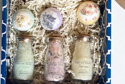 Treat yourself to the best soaking salts! All Organic and Natural! Photo 2