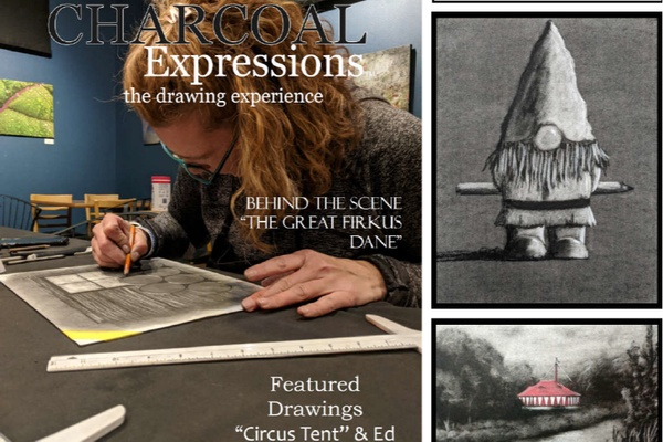Charcoal Expressions Drawing Box Photo 1