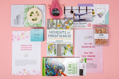 Loti Wellness Self-Care Box for your mind, body and soul! Photo 3