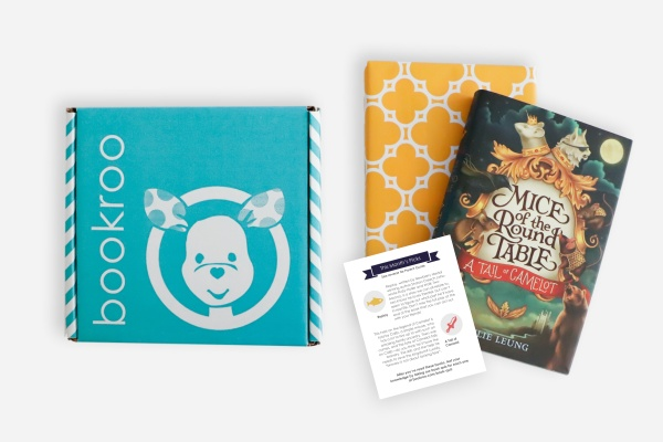 Bookroo Chapter Book subscription for kids.