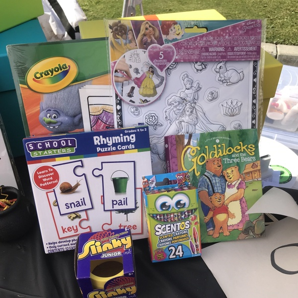 Kids Activity Box age 5-7(box will vary from picture. Picture is an example)
