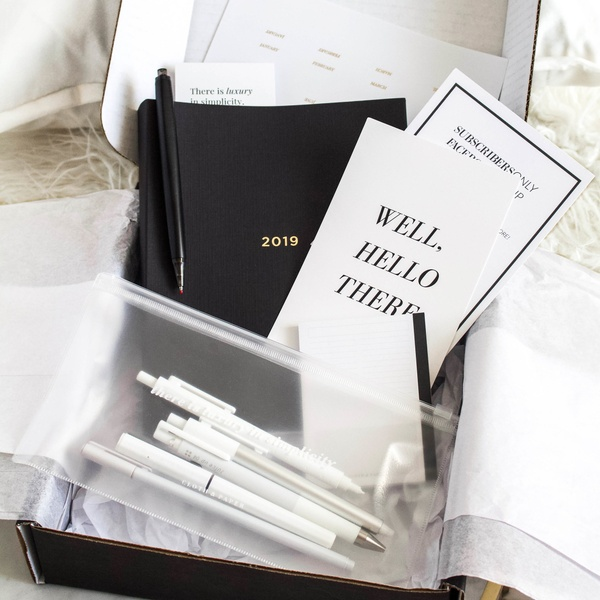 September 2018 Stationery and Penspiration Box