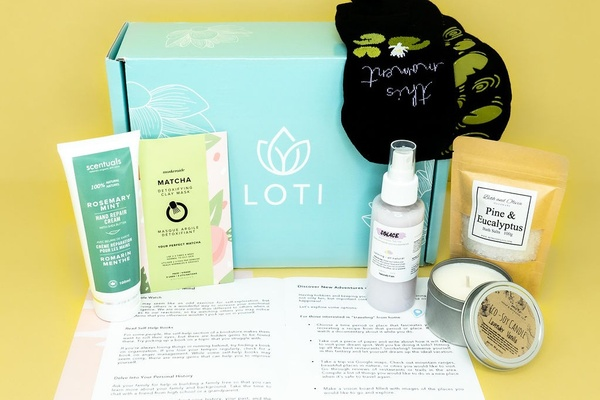 Loti Wellness Self-Care Box for your mind, body and soul! Photo 1